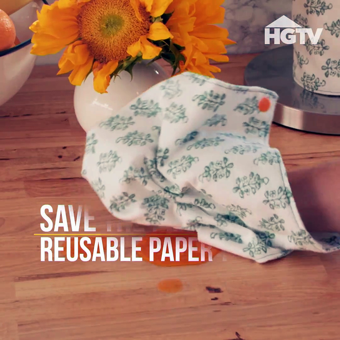 Looking to move away from paper towels? Roll up these eco-friendly options for easy access in the kitchen. Looking for snaps and setters? Start here >>  (We