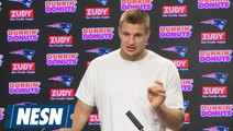 Rob Gronkowski Patriots vs. Chiefs Week 6 Wednesday Press Conference