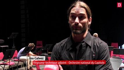 Dans les coulisses de l'orchestre national du Capitole