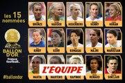 Les 15 nommées au Ballon d'Or féminin France Football - Foot - Ballon d'Or 2018