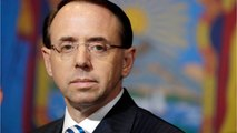 Deputy Attorney General Rod Rosenstein: The Most-watched Official In Washington