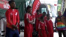 Special Olympics PNG drove off with a new K120,000 van, thanks to support from WR Carpenters.President of Special Olympics PNG, Takale Tuna, thanked the firm