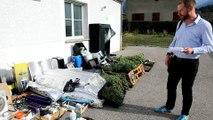 Savoie / Chateauneuf : un cultivateur de cannabis arrêté par les gendarmes