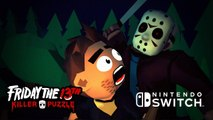 Friday the 13th : Killer Puzzle - Trailer d'annonce sur Switch