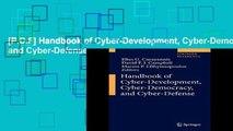 [P.D.F] Handbook of Cyber-Development, Cyber-Democracy, and Cyber-Defense