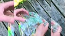 DIY Slime Balloonies Bubbles - Satisfying Slime Bubbles POP ASMR !