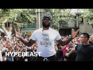直擊John Elliott x Nike LeBron Icon上海站 - HYPEBEAST專訪 Lebron James