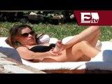 Sofía Vergara visitó playas mexicanas /Función con Joana Vegabiestro.