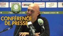 Conférence de presse FC Sochaux-Montbéliard - FC Metz (1-2) : José Manuel AIRA (FCSM) - Frédéric  ANTONETTI (FCM) - 2018/2019