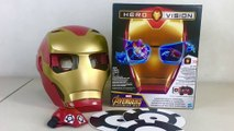 Avengers Infinity War IRON MAN HERO VISION Augmented Reality || Keith's Toy Box