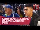 El chileno Felipe Mora llega a México para reforzar a Cruz Azul