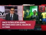 Presentan colección de playeras en el Museo Interactivo de Futbol en Pachuca