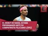 Rafael Nadal es baja del Abierto Mexicano de Tenis por lesión