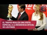 Peña Nieto desea que Copa del Mundo vuelva México con el Tricolor campeón