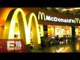 McDonald's reporta incremento en ventas después de dos años / Rodrigo Pacheco