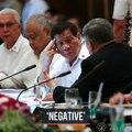 Duterte tells Cabinet medical test results came back 'negative'