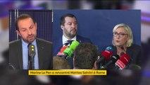 """Matteo Salvini : """"Force est constater que ça fonctionne. La politique migratoire en Italie est en train d'être inversée (...) les italiens ont moins de demandes d'asiles et de migrants qui arrivent sur leurs côtes"""" affirme Sébastien Chenu (RN)"""