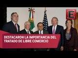 Ildefonso Guajardo se reúne con senadores de Estados Unidos