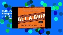 [P D F] Get A Grip  An Entrepreneurial Fable       Your Journey to Get Real, Get Simple, and Get