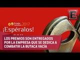 Juan Fernández y la entrega de los premios Cartelera de Teatro