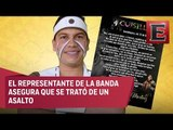 Autoridades confirman asesinato del vocalista de Cuisillos