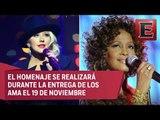 Christina Aguilera rendirá tributo a Whitney Houston