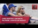 Chris Martin y Gwyneth Paltrow se fueron juntos de vacaciones
