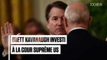 Brett Kavanaugh investi à la Cour suprême des Etats-Unis