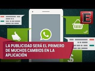 Whatsapp ofrecerá publicidad a partir de 2019
