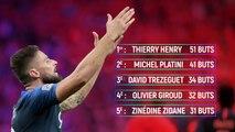 Olivier Giroud ou l'incontournable de l'équipe de France