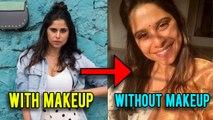 Celebrities With Makeup And Without Makeup | मराठी अभिनेत्रीचा विदाउट मेकअप लूक! | Sai Tamhankar