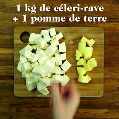 Vous aimez la purée de céleri ?Voici la recette parfaite :