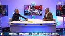 Dimanche à Marseille, handicapés et valides unis dans la même course