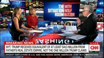 New York Times: Donald Trump received equivalent of at least $413 million from father's real estate empire, not the one million Donald Trump claims. #Breaking #News #NewYork #NewYorkTimes #DonaldTrump #CNN