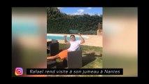 Rafael rend visite à son jumeau à Nantes, Mendy chante à la gloire de Paul Pogba