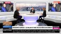 """Morandini Live : Massimo Gargia  """"seul et vieux"""", ses touchantes confidences (vidéo)"""