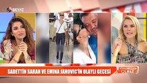 Beyaz TV'de olay Emina Jahovic Sadettin Saran iddiası!