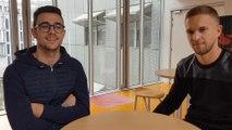 Interview des  pilotes lyonnais  Julien Andlauer et Côme Ledogar
