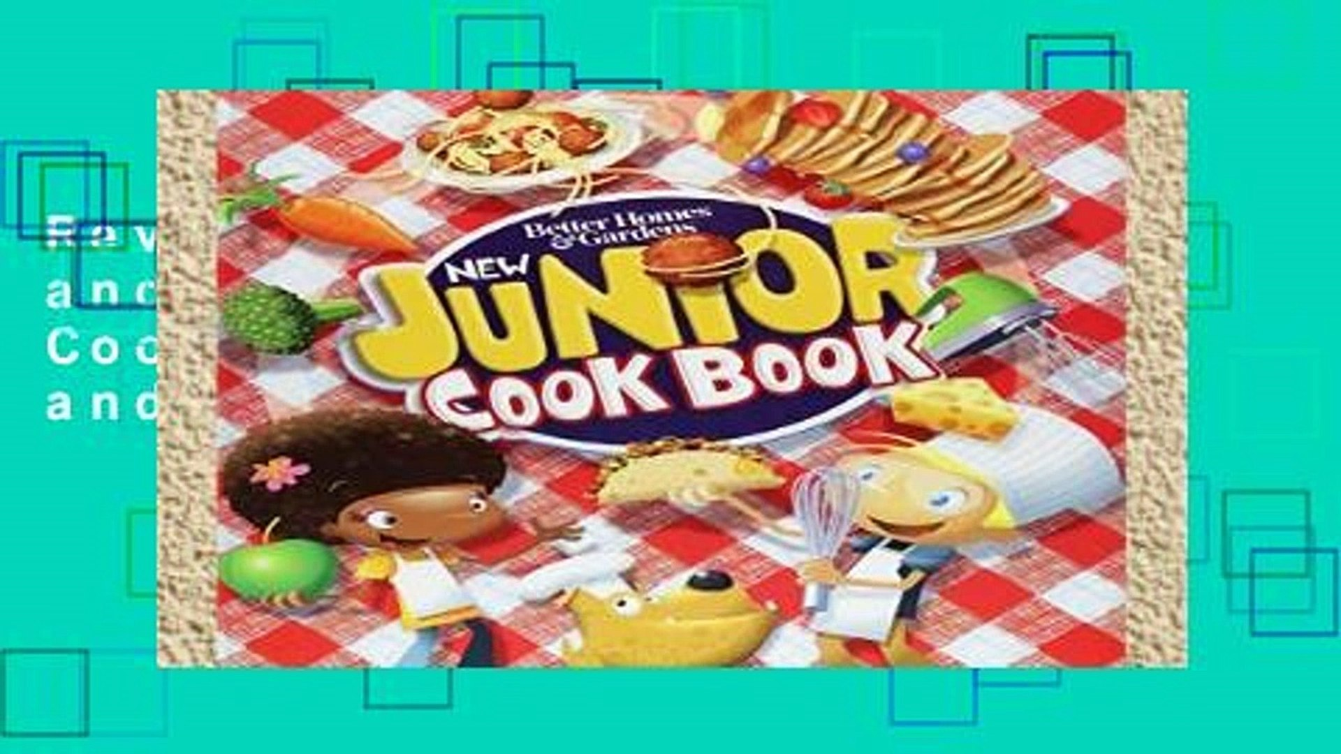 Review  Better Homes and Gardens New Junior Cook Book (Better Homes and Gardens Cooking)