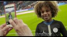 Paris Saint-Germain make dream come true as Rudy meets Neymar Jr