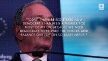 Michael Bloomberg Re-Registers as a Democrat, Considers Presidential Run