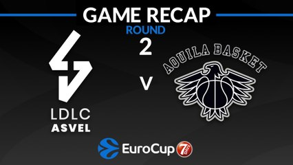 7Days EuroCup Highlights Regular Season, Round 2: ASVEL 75-64 Trento