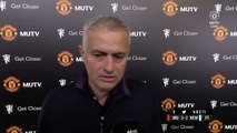 """""""You can win, you can lose, but that dignity must always be there."""" Jose reacts to today's victory over Newcastle..."""