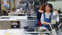 Ellie Kemper Tries to Keep Up with a Professional Chef   Back-to-Back Chef   Bon Appétit