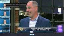 NESN Sports Today: Billy Jaffe Breaks Down Bruins' First Line Vs. Senators