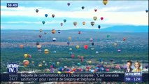 Le 47e festival de montgolfière d'Albuquerque est le plus grand rassemblement de ballon au monde