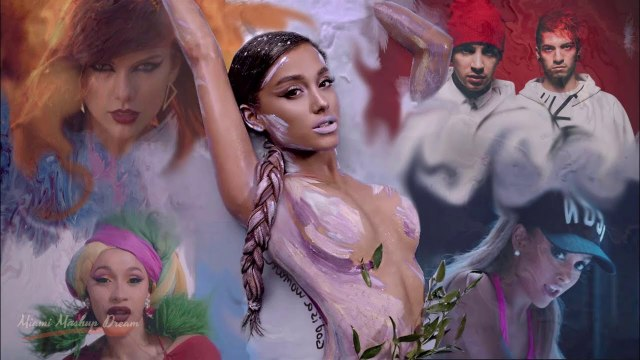 Ariana Grande - God Is A Woman MASHUP MUSIC VIDEO - Ariana Grande ft. Justin Bieber · Bruno Mars · Cardi B · Taylor Swift & More | THE MEGAMIX MASHUP 2018