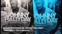"""Album posthume de Johnny Hallyday : """"Mon pays c'est l'amour"""""""