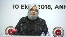 """Aile, Çalışma ve Sosyal Hizmetler Bakanı Zehra Zümrüt Selçuk: """"Boşanmanın kaçınılmaz olduğu hallerde aile fertlerinin herhangi birinin mağduriyet yaşamayacağı ve hak kaybına uğramayacağı bir sistemi daha işlevsel hale getirmek durumundayız"""""""