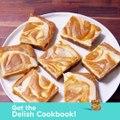 Pumpkin Cheesecake Bars are DANGEROUSLY easy to make.Full recipe: